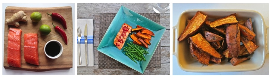 recipe: ginger lime salmon marinade [35]