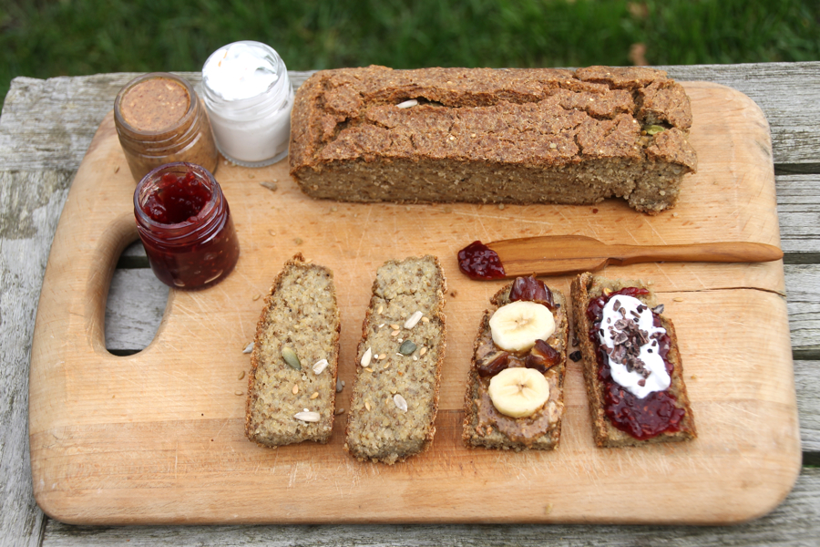 Gluten Free Seeded Quinoa & Chia Bread - Hip & Healthy