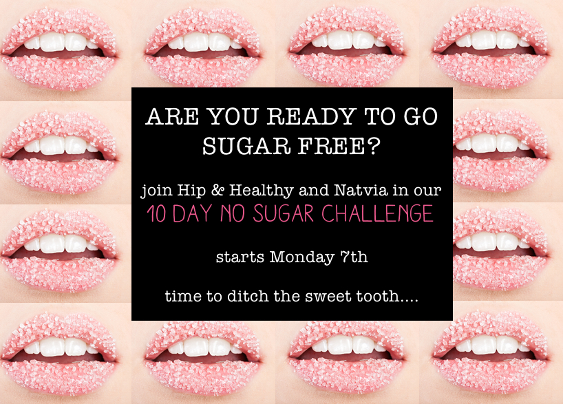Hip & Healthy's 10 Day No Sugar Challenge: The Rules!
