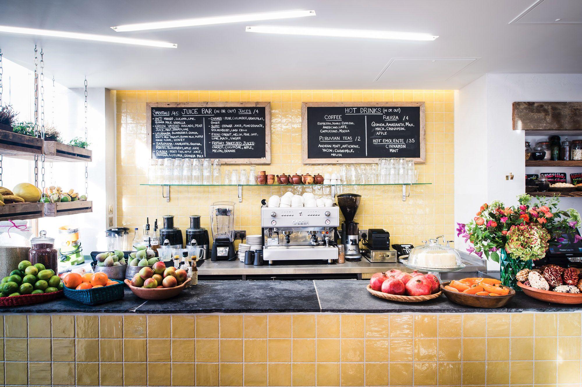 London 39 s healthiest restaurants hip healthy for Food bar health