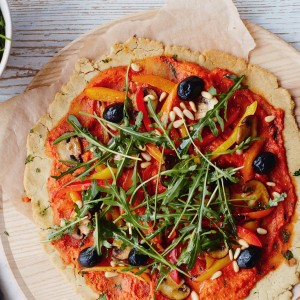 Brown Rice Pizza