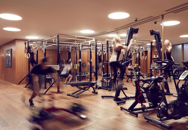 Where the H&H team workout