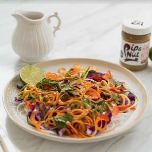 rainbow raw pad thai