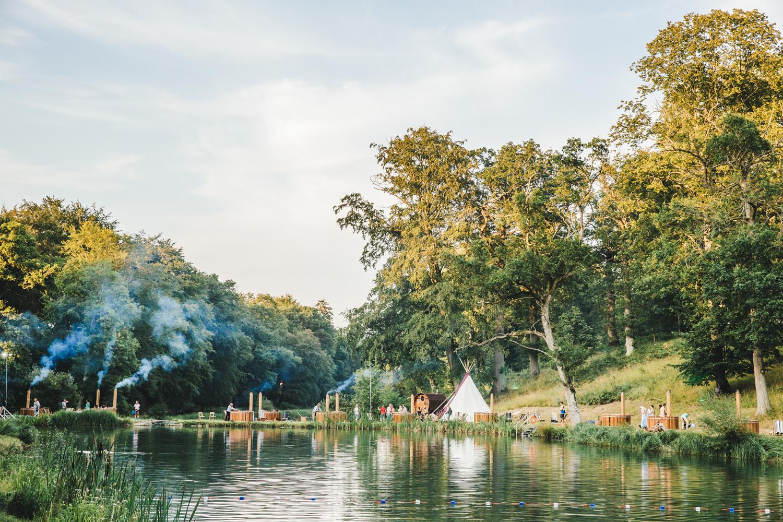 Wilderness Festival Hot tubs