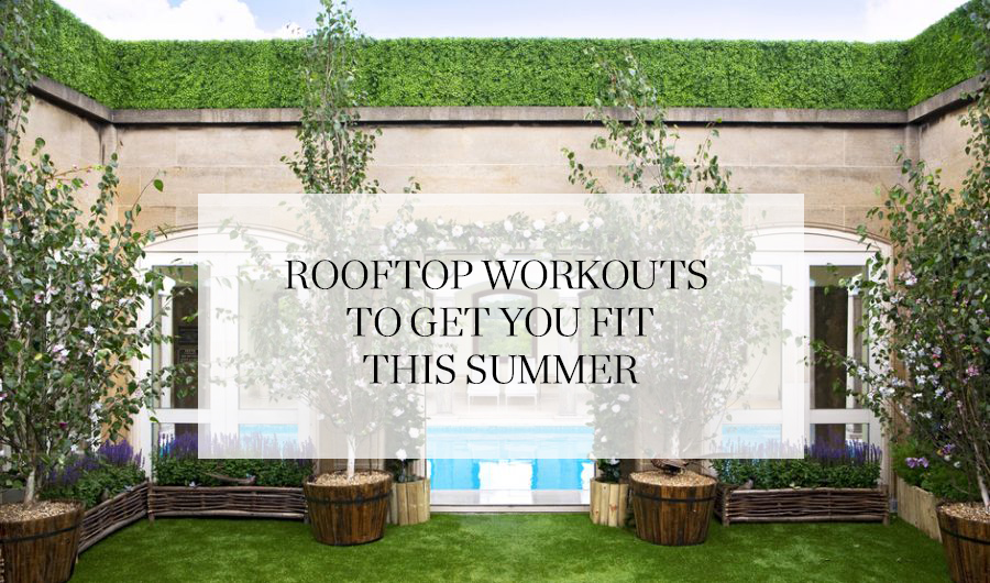 rooftop workouts
