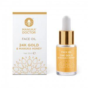 24K Gold & Manuka Honey Face Oil