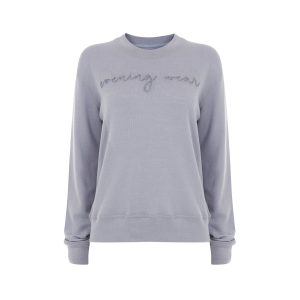 luxe and hardy evening wear jumper