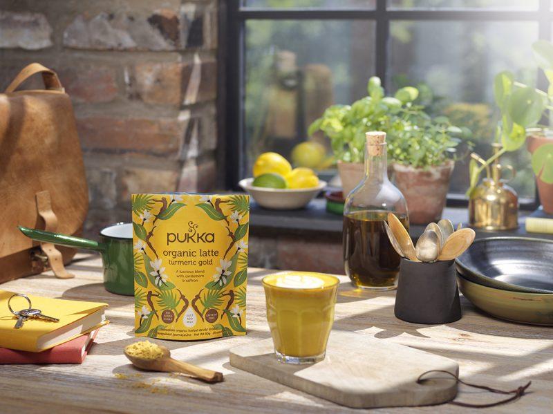 Pukka Latte Blends Turmeric Gold