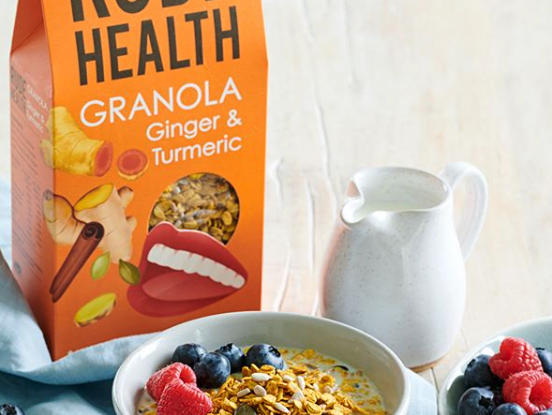 Rude Health Ginger and Turmeric Granola