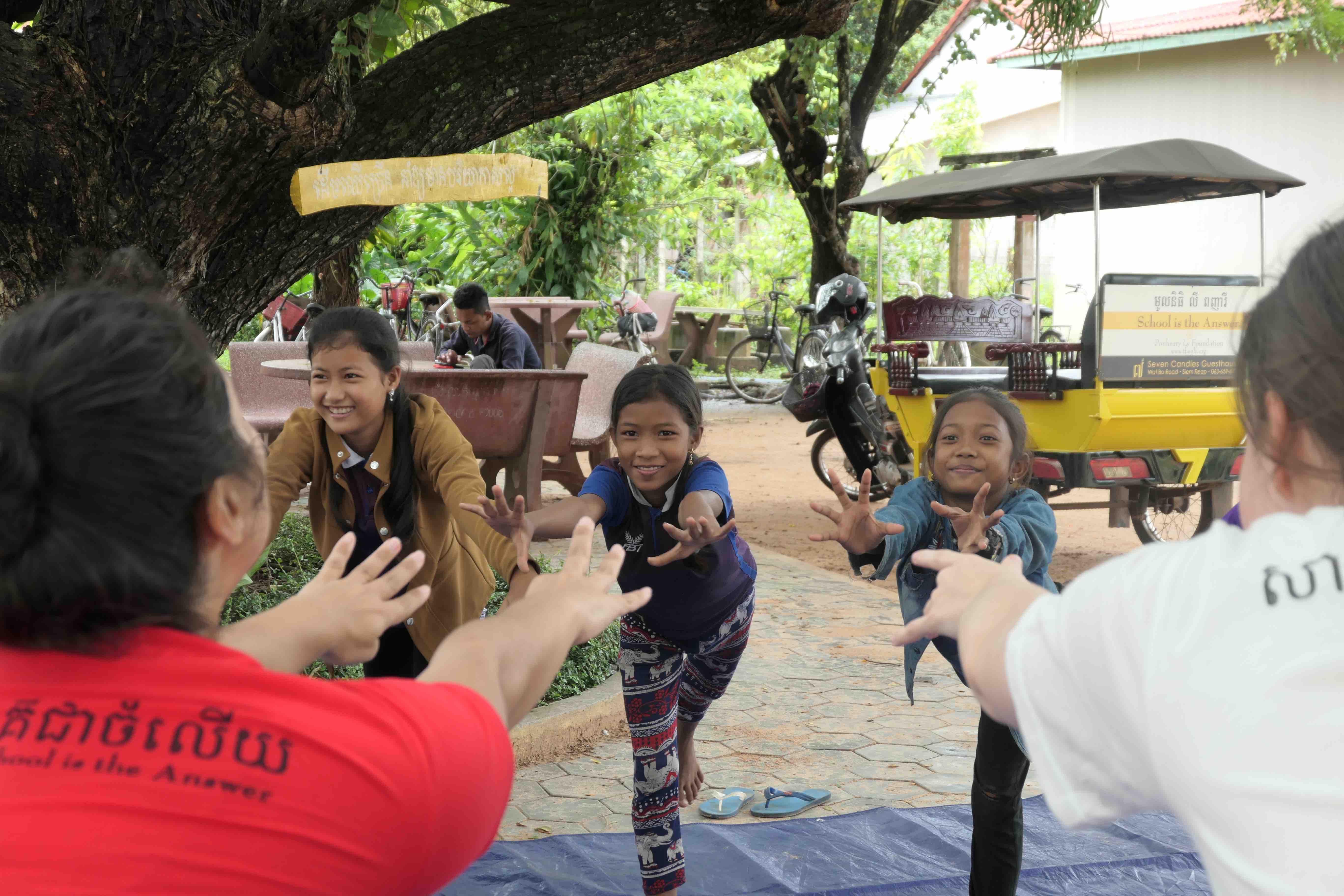 Cambodian Yoga Retreat