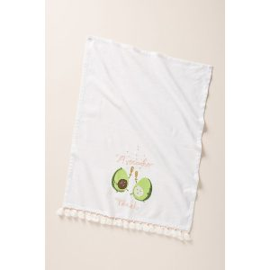 avocado toast tea towel