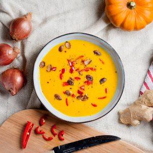 Immune Boosting Pumpkin Soup