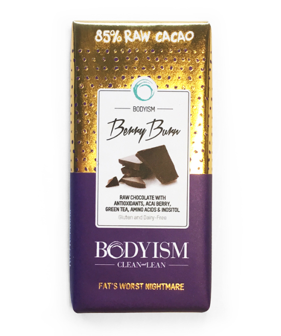 bodyism chocolate bar