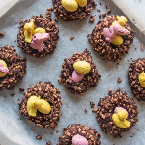 Deliciously Ella Chocolate Easter Nests