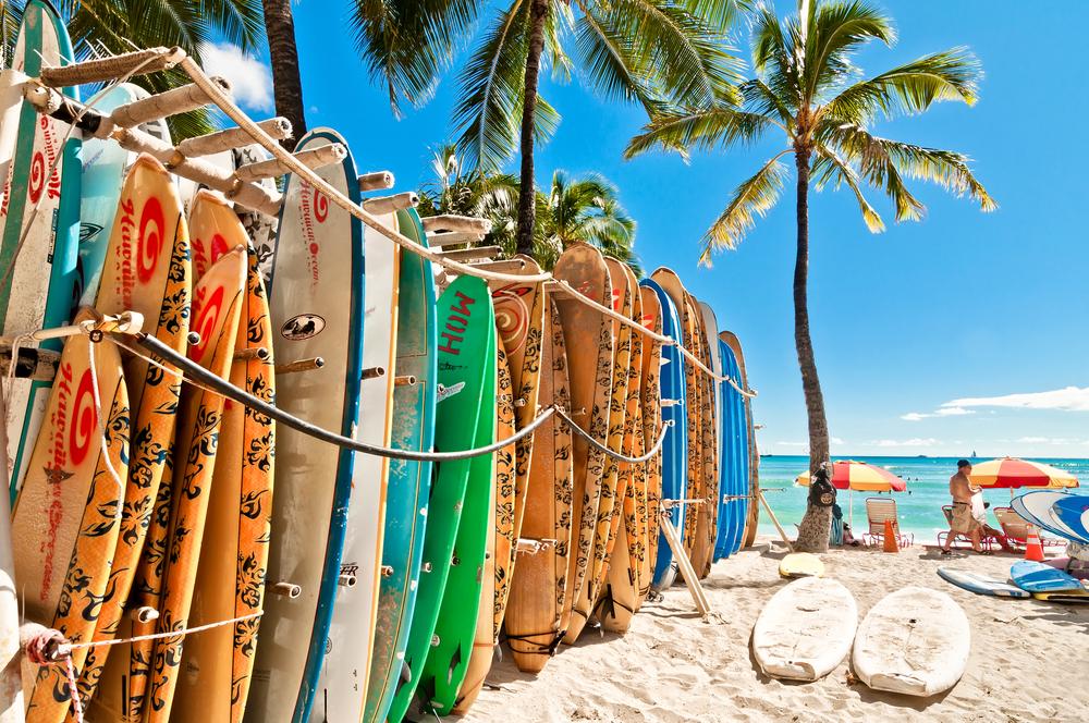 Surfing Hawaii Waikiki