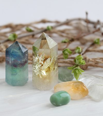 Crystals Natural Healing Tool