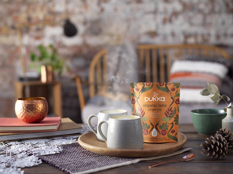Pukka Latte Blends Ginger Joy