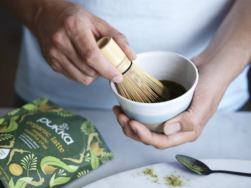 Pukka Latte Blends Majestic Matcha Chai