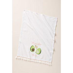 avocado toast tea towel