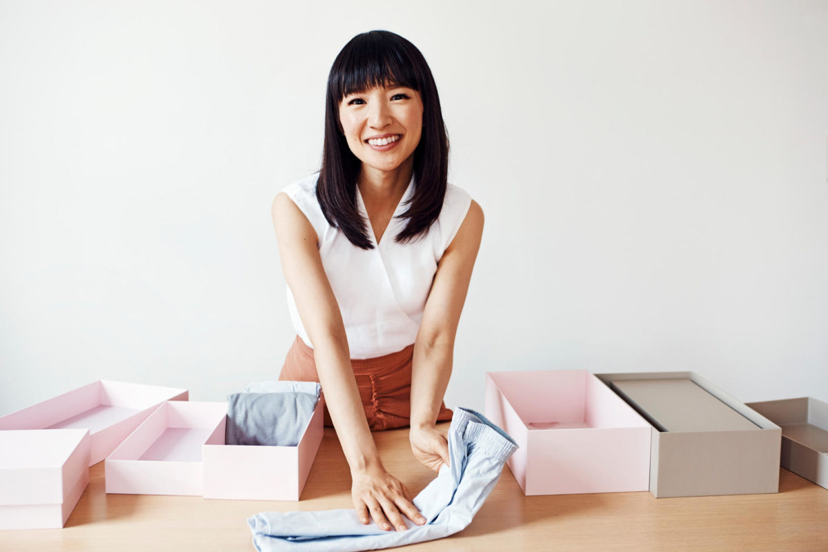 tidying up with marie kondo netflix series lifestyle hip and healthy. Black Bedroom Furniture Sets. Home Design Ideas