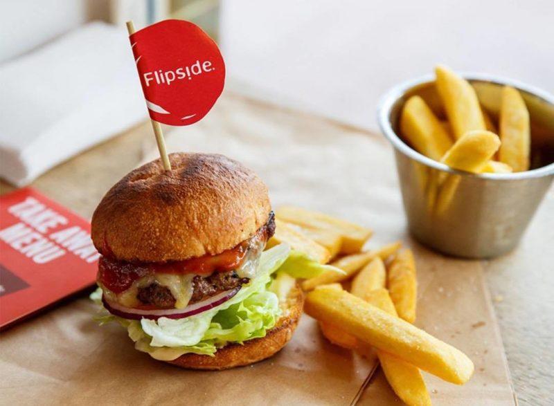 Flipside Vegan burger