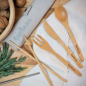 Bambuka Cutlery Set