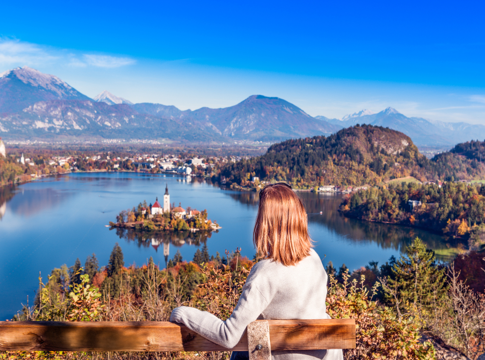 Lake Bled Bench