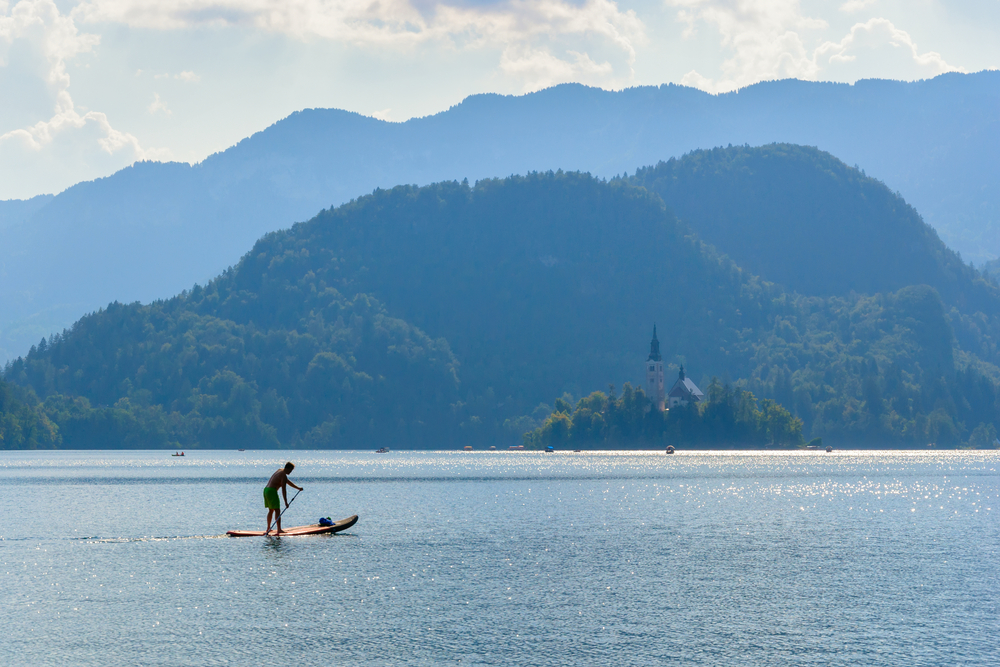 Lake Bled Stand Up Paddle Board