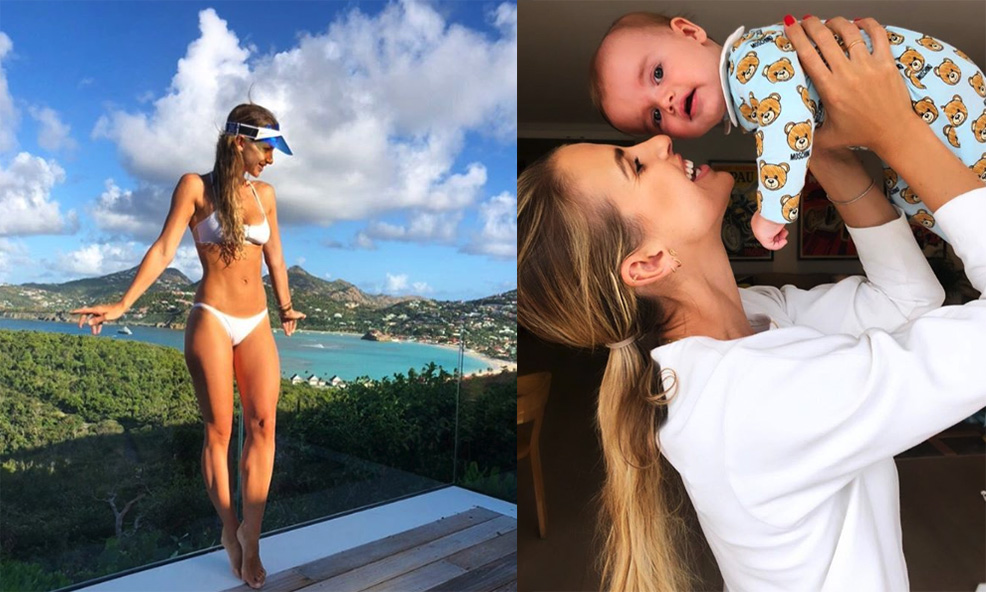 The Postnatal Workout Vogue Williams Did After Her Pregnancy