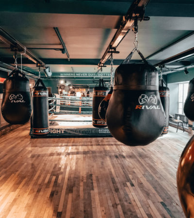 Get Fighting Fit At Rathbone Boxing Club