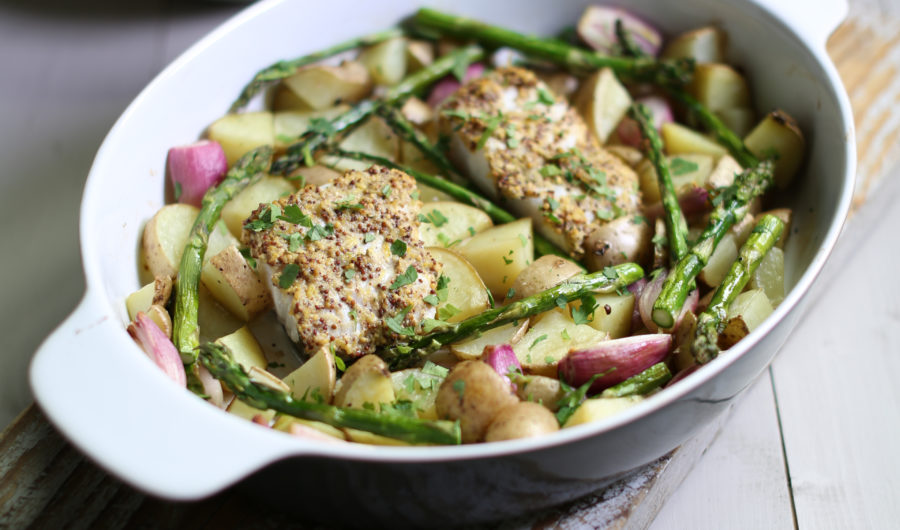 Seasonal Recipe - Cod & Asparagus One Pan Roast