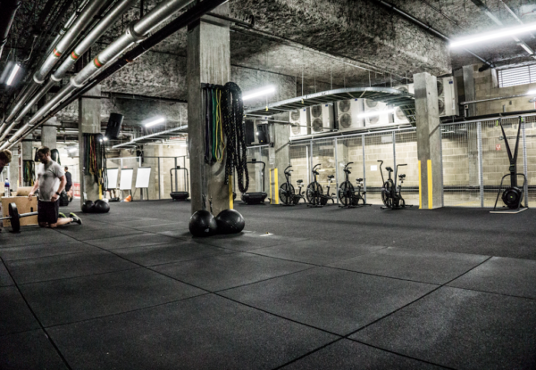Manor's New Underground Workout Space