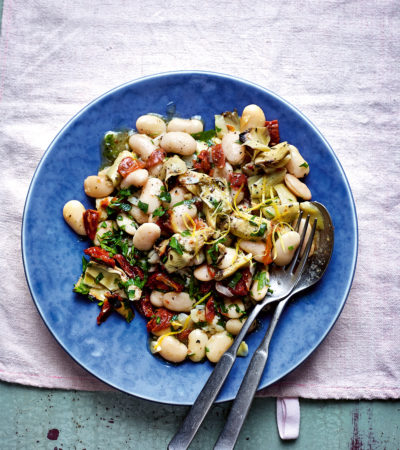 Artichoke and Butter bean Salad 1
