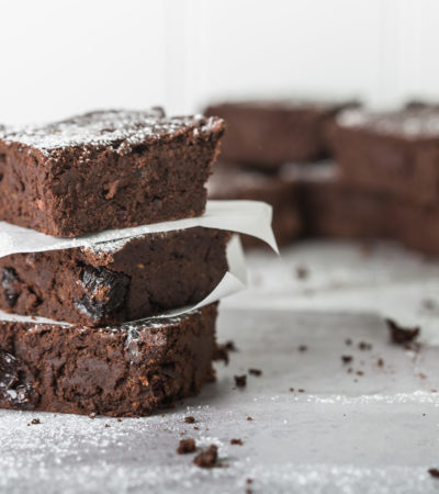 Easy Sweet Potato Brownies