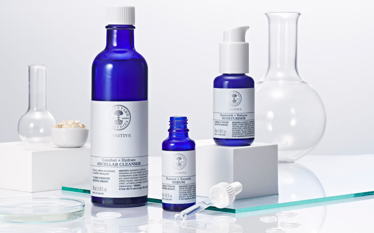 Neal's Yard Launch Sensitive Skincare Range