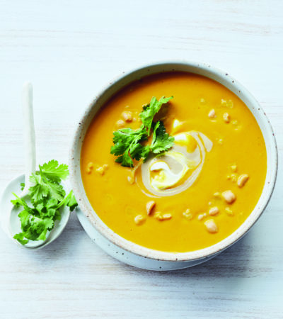 Roasted Carrot & Turmeric Soup