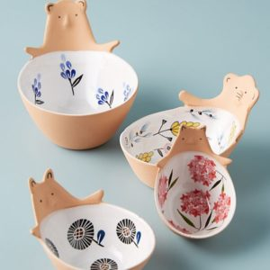 Ceramic Bear Measuring Cups - Anthropologie