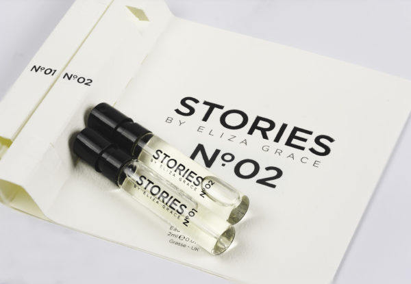 Stories Parfums Samples 1 and 2