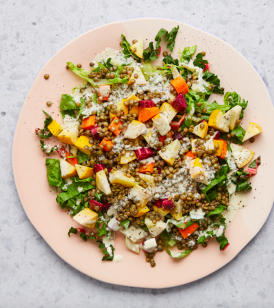 A Quick, Gut-Boosting Summer Salad Recipe
