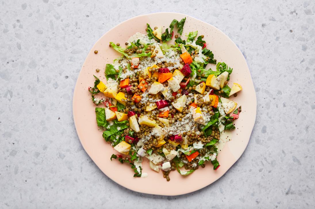 A Quick, Gut-Boosting Summer Salad Recipe