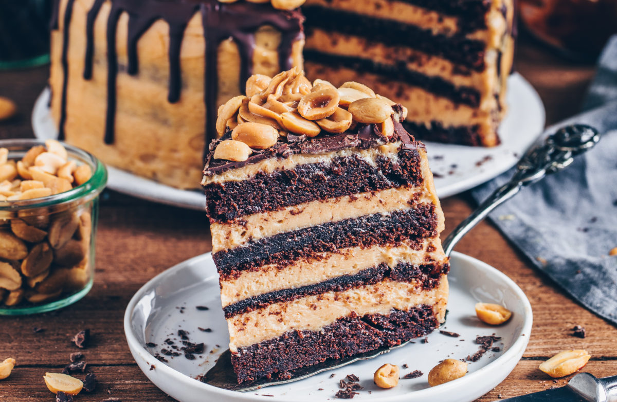 Chocolate Peanut Butter Cake copy 2