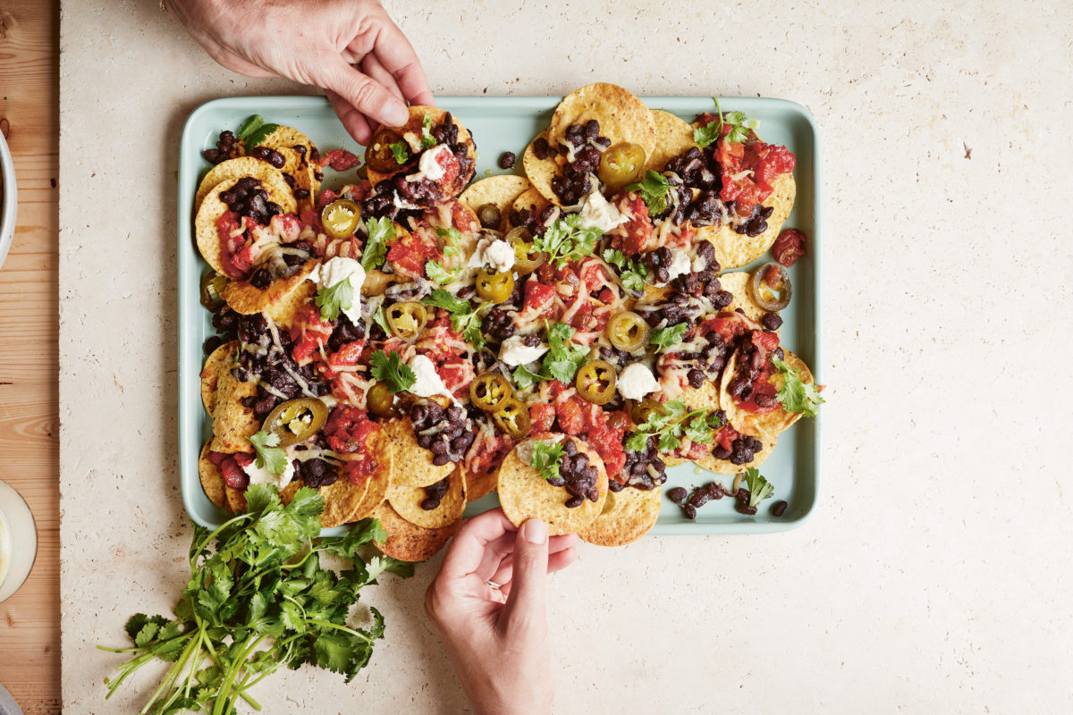 Easy Vegan Nachos