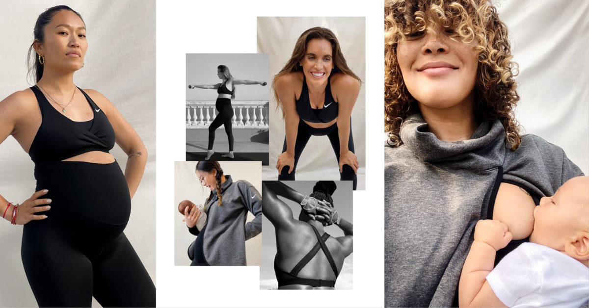 Nike M Maternity Activewear Designed By Mother S For Mother S Hip And Healthy