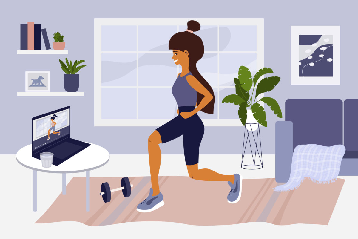 6 New Ways You Can Have An Epic Workout At Home