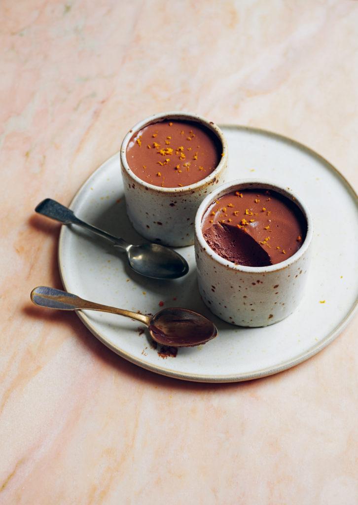 Vegan Chocolate Orange Mousse