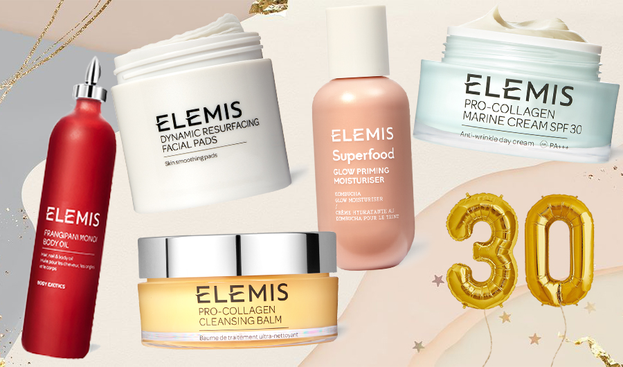 5 Skincare Picks To Celebrate 30 Years Of Elemis (+ Discount Not To Be Missed)