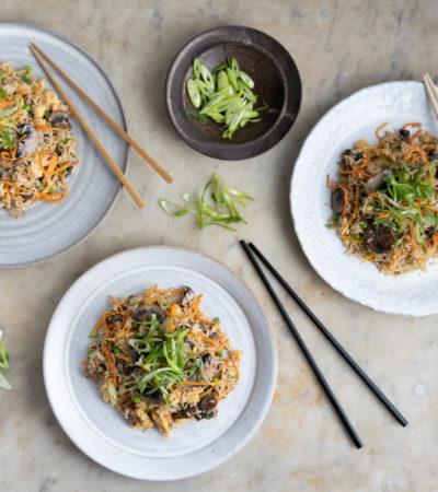 Miso Mushroom Fried Rice